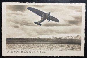 Mint Dornier DOX Seaplane RPPC Postcard Biggest In The World Friedrichshafen