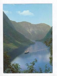 The Naeroy Fjord/ Naeroyfjorden, Sogn,  Norway 1940-70s