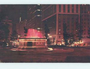 Pre-1980 SHOPS AT GRAND CIRCUS PARK Detroit Michigan MI hk6989