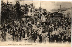 CPA Carnaval de NICE - Maroquineire (203652)