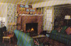 Vermont Dorset The Dorset Inn Living Room 1955