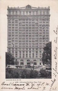 Exterior,  Whitehall Building,  New York,   PU_1908