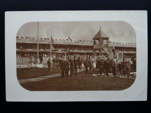 Mauritius HORSE RACE COURSE Champs de Mars STAND & JUDGES BOX c1920s RP Postcard