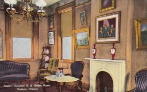 Parlor General U S Grant Home Galena Illinois