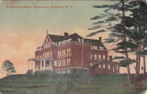 KINGSTON , New York, 1900-1910's;  Benedictine Sisters' Sanitarium