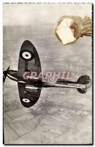 Postcard Modern Jet Aviation Royal Air Force Vickers Supermarine Spitfire