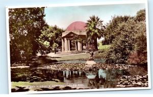 *Queen Victoria Gardens Melbourne Australia Vintage Postcard C90