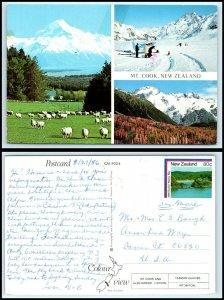 NEW ZEALAND Postcard - Mt. Cook AH