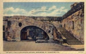 castle San Marcos National Monument St Augustine FL 1938