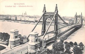 Budapest Republic of Hungary Erzsebet hid, Elisabeth Brucke Budapest Erzsebet...