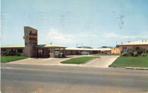 College Station Texas Sands Motel Vintage Postcard J51332