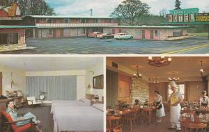 Travel Inn Motel Restaurant - Eugene, Oregon - pm 1967