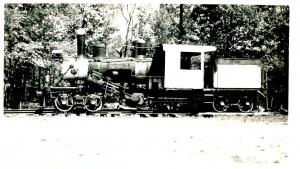 Steam Locomotive *RPPC (Photo, not a postcard) (3.25 X 5.5)