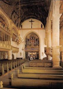 Kirchenburg St. Michael Ostheim von den Rhoen Orgel Church Interior Eglise