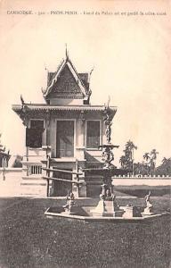 Cambodge Vietnam, Viet Nam Pnom Penh, Local du Palais ou est garde le sabre s...