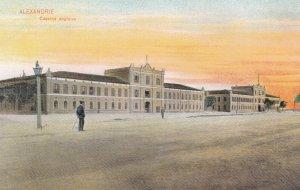 ALEXANDRIE , Egypt , 00-10s ; Caserne anglaise