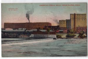 American Cereal Mills, Cedar Rapids IA
