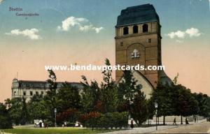 poland, SZCZECIN STETTIN, Garnisonkirche, Garrison Church (1931) Stamps