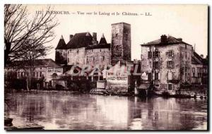 Nemours - View of the Loing and the Castle - Old Postcard