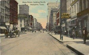 MEMPHIS , Tennessee, 1912 ; Main Street
