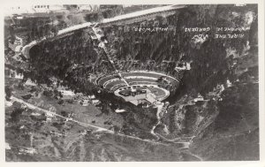RP: HOLLYWOOD , California , 20-30s ; Air View of Japanese Gardens