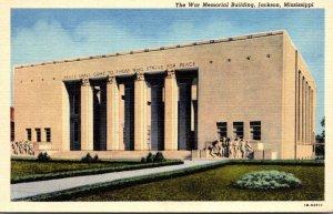 Mississippi Jackson The War Memorial Building Curteich