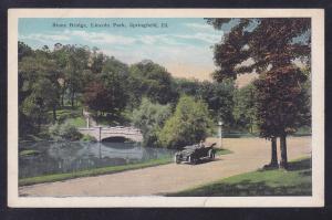 Springfield, IL Stone Bridge, Lincoln Park circa