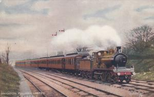 UK Railroad Train ; Brighton Pullman Limited, 00-10s ; TUCK