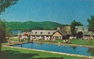Canada Quebec Mont Tremblant Lodge In The Laurentians & Swimming Pool