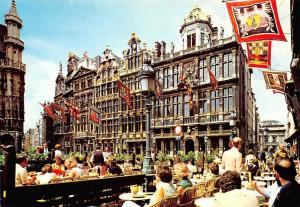 Belgium Brussel Corporation Houses from the XVII Century, Maison Market Place