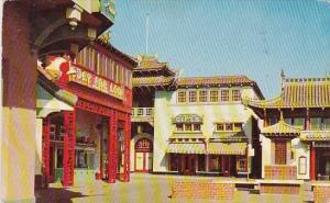 California San Francisco New Chinatown