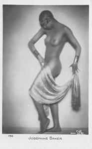 Josephine Baker Entertainer Studio S'Ora, 136 RPPC postcard