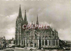 Modern Postcard Der Dom von Kolen suden Cologne Cathedral from the South