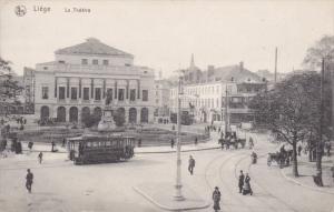 LIEGE, Belgium, 1900-1910´s; Le Theatre