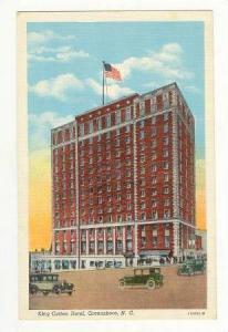 King Cotton Hotel, Greensboro, North Carolina, 30-40s
