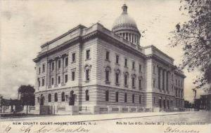 Exterior, New Country Court House, Camden,  New Jersey, PU-1906
