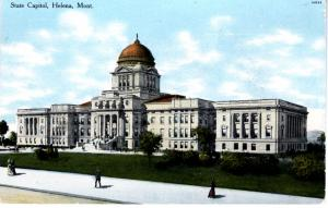 STATE CAPITOL, HELENA. MT.