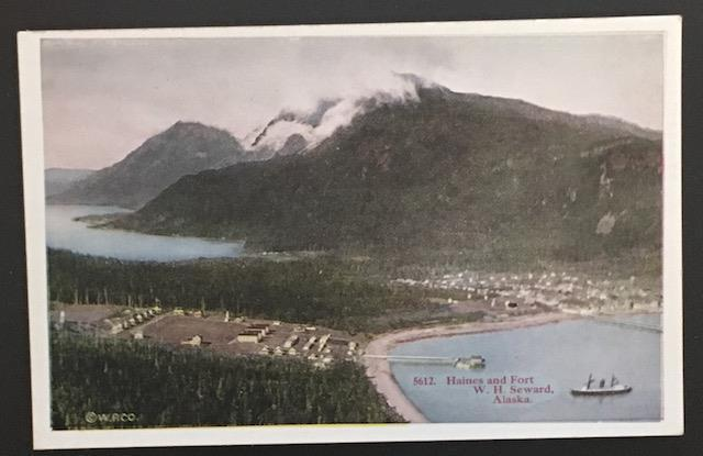 Haines and Fort H.H. Seward Alaska HH T Co 5612