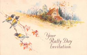 Your Rally Day Invitation 1935