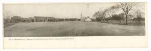 Charleston , South Carolina, Panoramic view Country Club & Golf Course, 1900s...