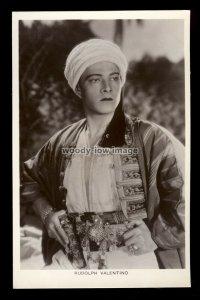 b1617 - Film Actor - Rudolph Valentino - Picturegoer No.271a - postcard