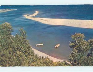 Pre-1980 TOWN VIEW SCENE Gaspe Peninsula Quebec QC p9861