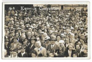 Keswick Convention no 14A, RP PPC  Crowd at Evangelical Christian Convention