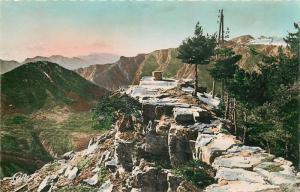 Semi-modern postcard France PEIRA-CAVA La Table d`Orientation