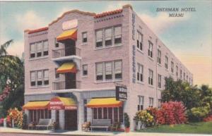 Florida Miami The Sherman Hotel