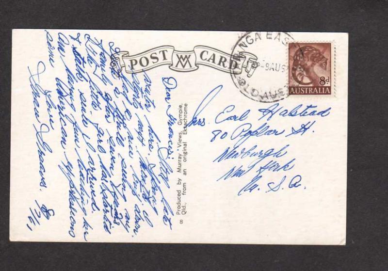 Australia Queensland Brisbane King George Square City Hall Postcard  Post Card