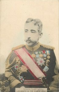 Imperial Japanese General Count Nozu Commander of the Fourth Army postcard Japan