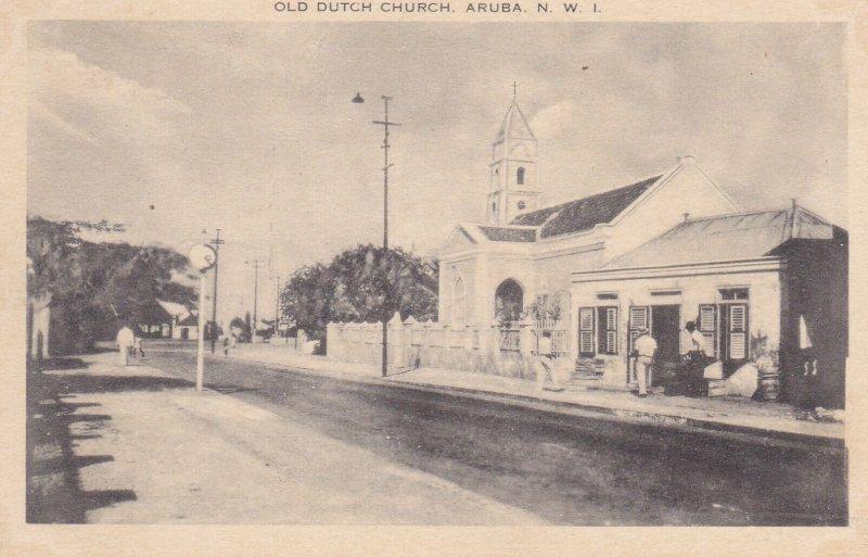 Old Dutch Church , ARUBA , N.W.I. , 1920-30s