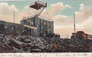 Colorado Colorado Springs Signal Station Top Of Pikes Peak 1906