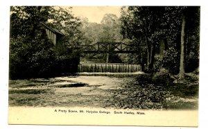 MA - South Hadley. Mt Holyoke College, Pretty Brook Scene